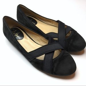 Cole Haan | Black Criss-Cross Flats